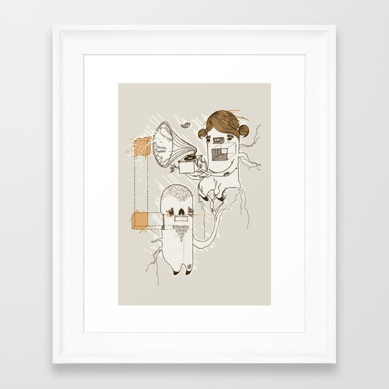 One day you'll see Framed Art Print