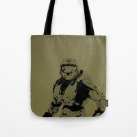 Master Chief Tote Bag