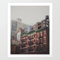 Impressions Of A City II Art Print