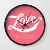 Love* Wall Clock