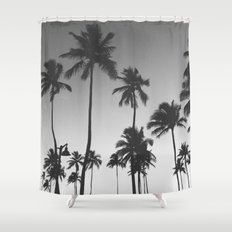 Palm Trees II Shower Curtain