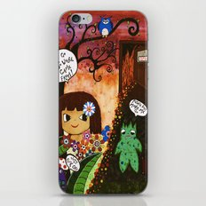 Hell is calling iPhone & iPod Skin