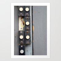 Doorbells Art Print