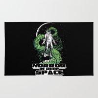Horror In Deep Space Rug