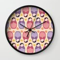 Russian Dolls Wall Clock