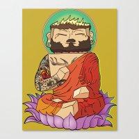 Gautama Block Canvas Print
