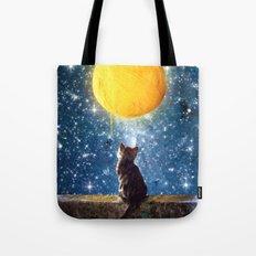 A Yarn of Moon Tote Bag