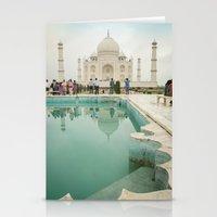 Azure Pools at the Taj Stationery Cards