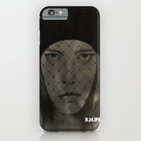 iPhone & iPod Case featuring Mystery Girl by KNIfe