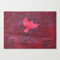 Red Flight Canvas Print