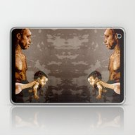 FATHER And SON - Urban A… Laptop & iPad Skin