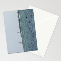 Just another day at the beach  Stationery Cards