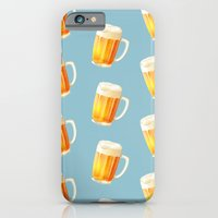 Ice Cold Beer Pattern iPhone 6 Slim Case