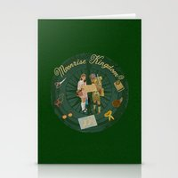 moonrise kingdom Stationery Cards featuring Moonrise Kingdom by KelseyMicaela