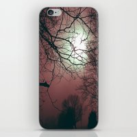 Day Moon iPhone & iPod Skin