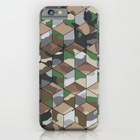 iPhone & iPod Case featuring CUBOUFLAGE MULTI (LARGE) by Oreezy