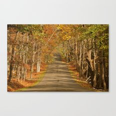 A Rise in the Road Canvas Print