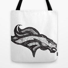 Bronco Tote Bag