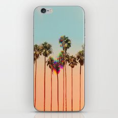Glitch beach iPhone & iPod Skin