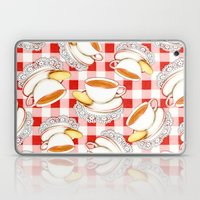 Cup Of Tea, A Biscuit An… Laptop & iPad Skin