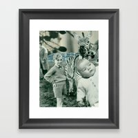 The Lash Framed Art Print