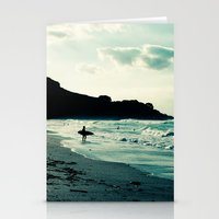 surf Stationery Cards featuring Surf by Hilary Upton