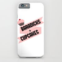 Baradicks And Cupcakes iPhone 6 Slim Case