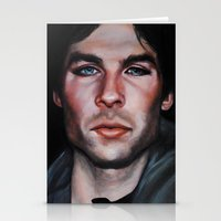 Ian Somerhalder (Damon F… Stationery Cards