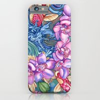 Orchid Splash iPhone 6 Slim Case