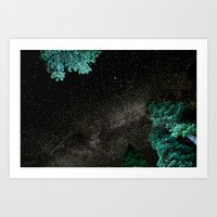 Lake Tahoe Milky Way Art Print