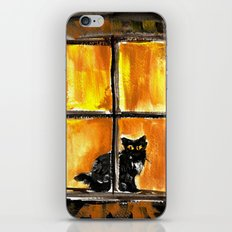 Looking out the Window iPhone & iPod Skin