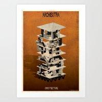 ARCHISUTRA-ORGY Art Print