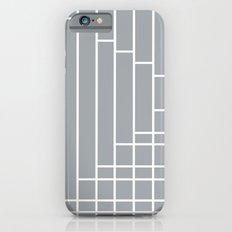 Fuzz Outline Grey iPhone 6s Slim Case