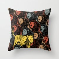 Busting The Myths Of Fem… Throw Pillow