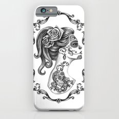 Sugar Skull Girl Cameo Slim Case iPhone 6s