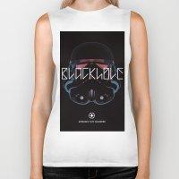 Blackhole Squadron Biker Tank
