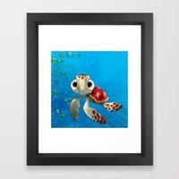 Squirt Framed Art Print