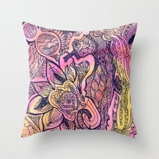Seaflower Throw Pillow