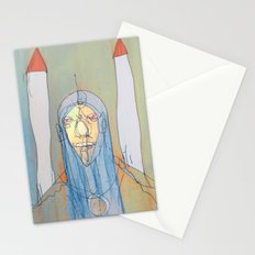 Daniel Rocket Moon Stationery Cards