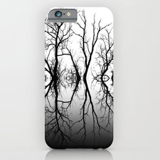 Silhouetted Beauty Black iPhone 6s Slim Case