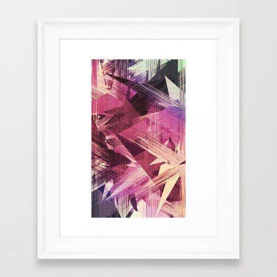 Skittish Framed Art Print