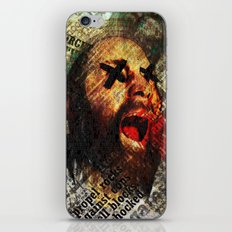 Sage scream iPhone & iPod Skin