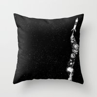Cohete Throw Pillow
