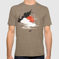 Uncharted Voyage Mens Fitted Tee Tri-Coffee SMALL