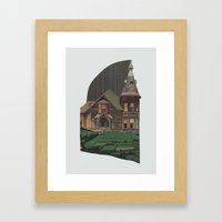 Home/Land Framed Art Print