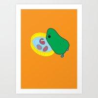 Beans2 Art Print