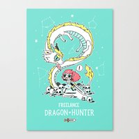 Dragon Hunter Canvas Print