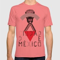 Locals Only - Ciudad de México Mens Fitted Tee Pomegranate SMALL