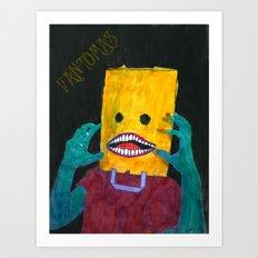 Fantômas Art Print