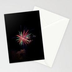 Star of Fireworks Stationery Cards